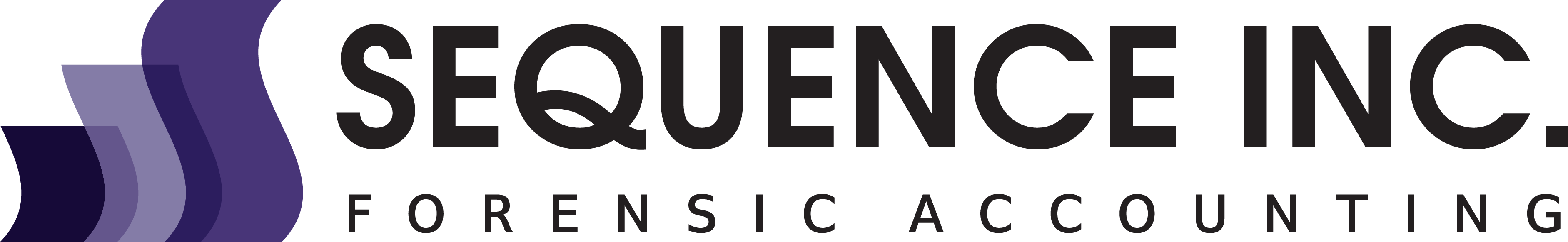 Sequence Inc. Forensic Accounting Logo
